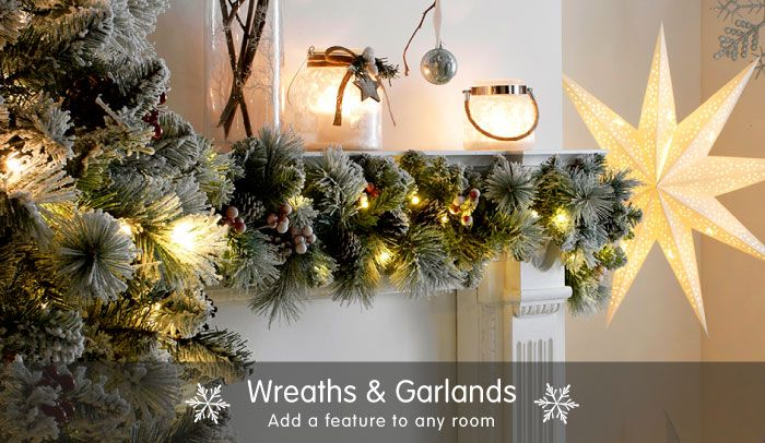 Save On Christmas Wreaths And Garlands At B M Christmas Wreaths Christmas Uk Christmas Wreaths Garlands