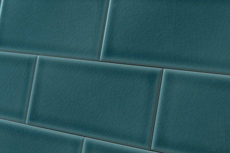 Crackle Glaze Peacock Subway Wall Tiles 7 5x15cm Wall Tiles Tiles Tile Layout