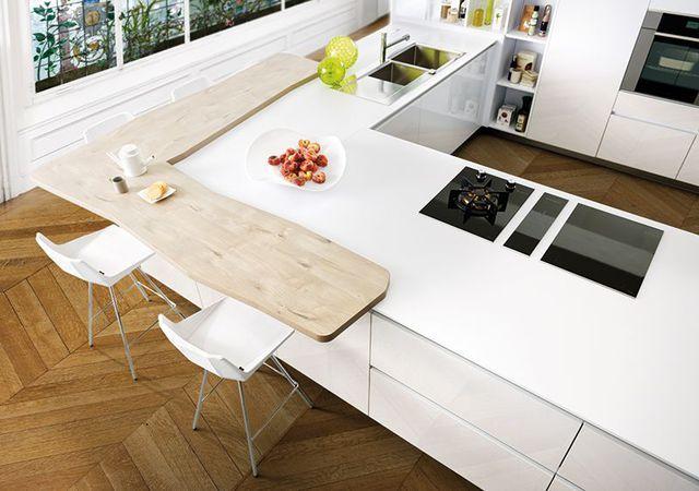 Pin By Caroline Beaujean On Idees Pour La Maison Kitchen Living Living Room Kitchen Cuisine Design