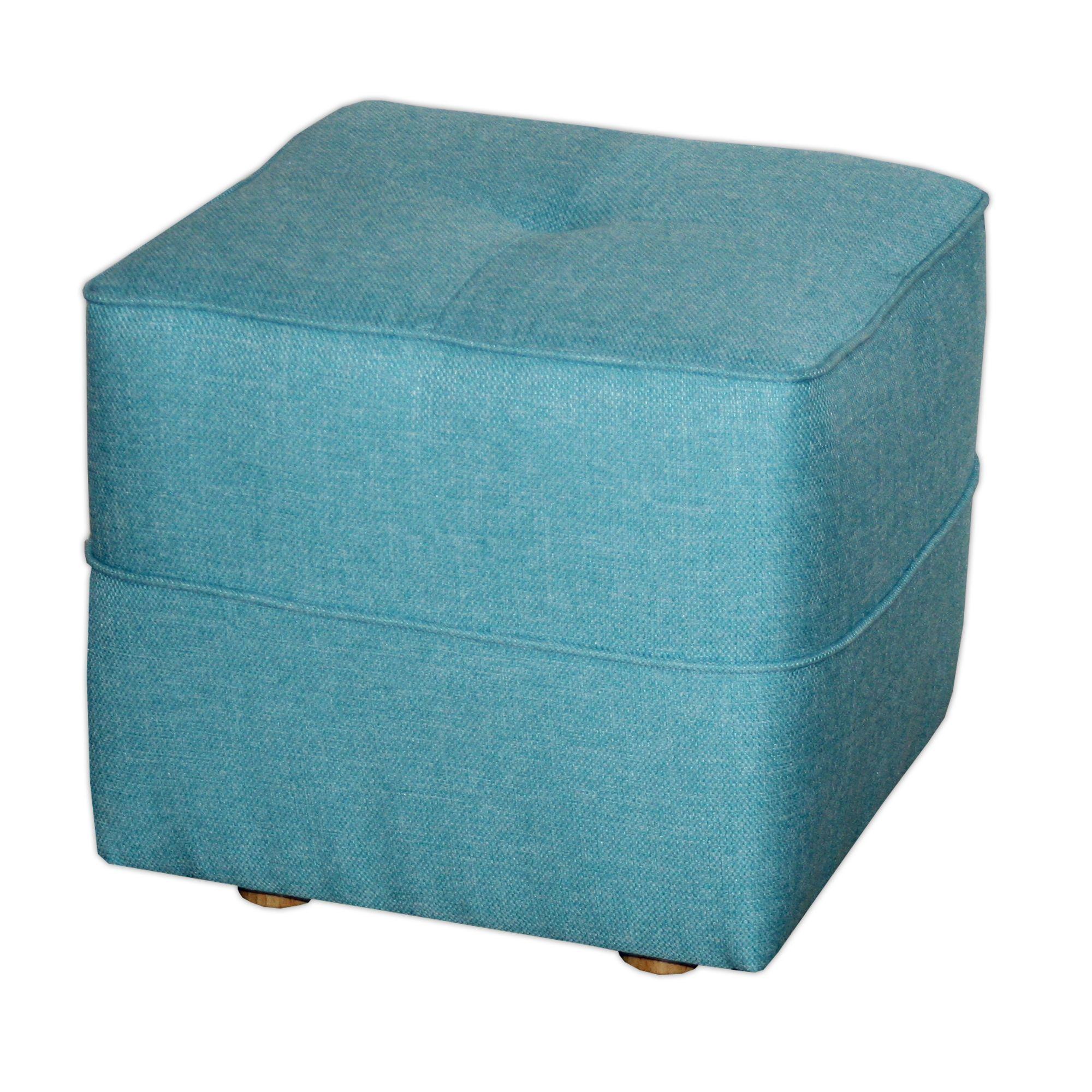 pouf bleu vicky canap poufs fauteuils et poufs salon et salle manger par pi ce. Black Bedroom Furniture Sets. Home Design Ideas