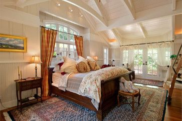 No drywall at all!  Debra Campbell Design - traditional - bedroom - other metro - Debra Campbell Design -