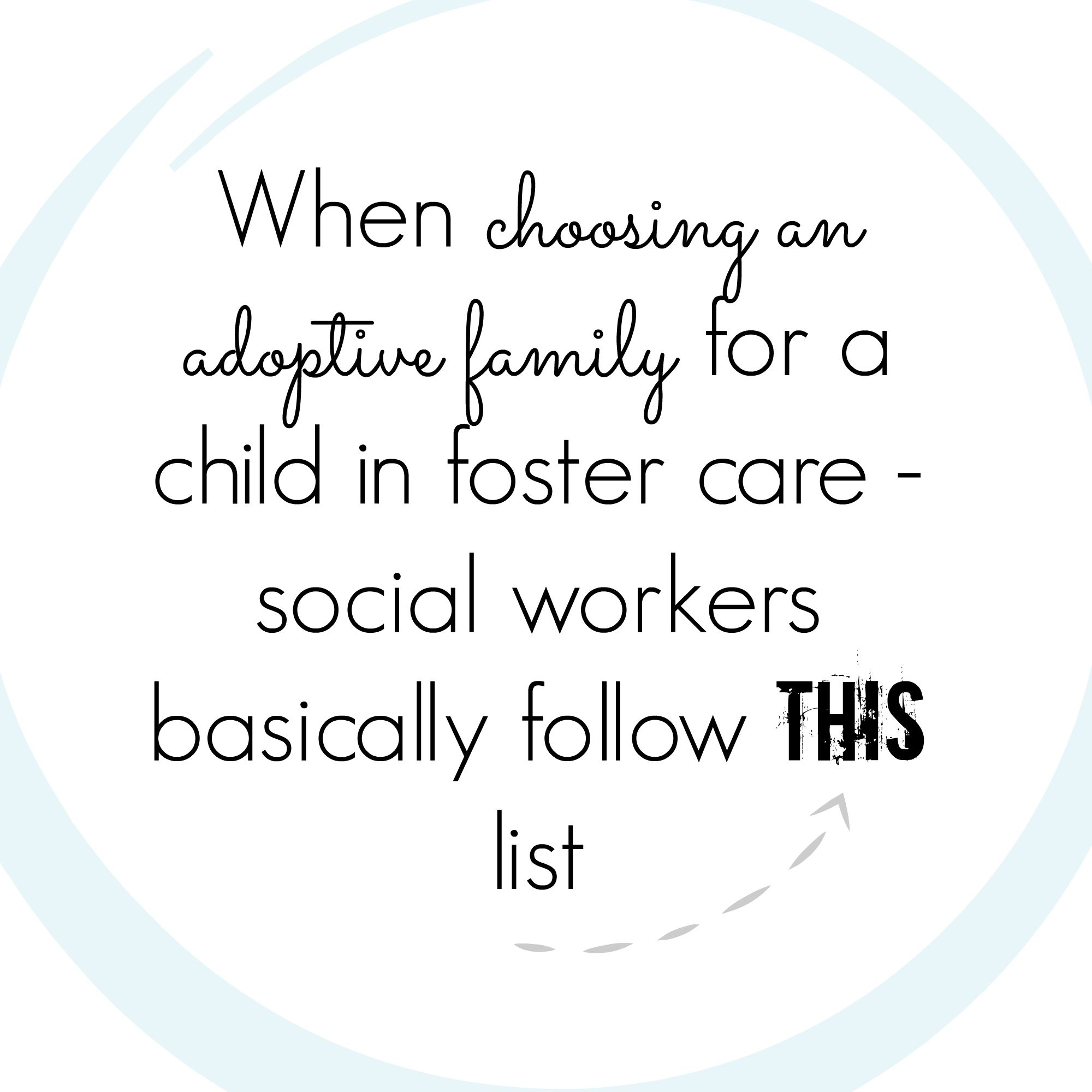 Why Can't I Adopt a Young Child From Foster Care?? Where