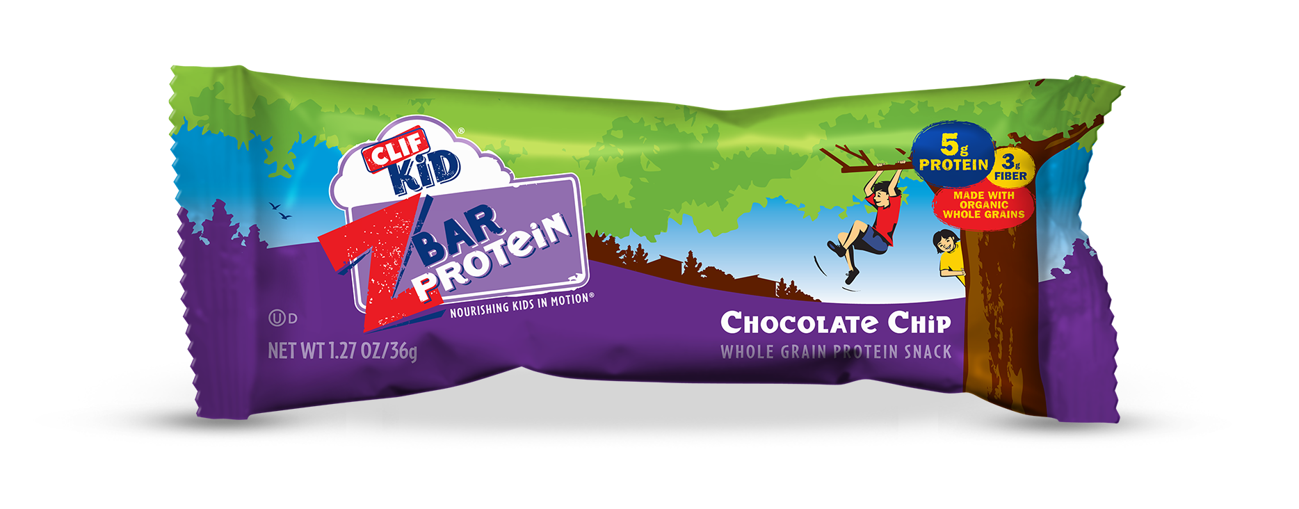 Clif Kid ZBar Protein in various flavors  Available at