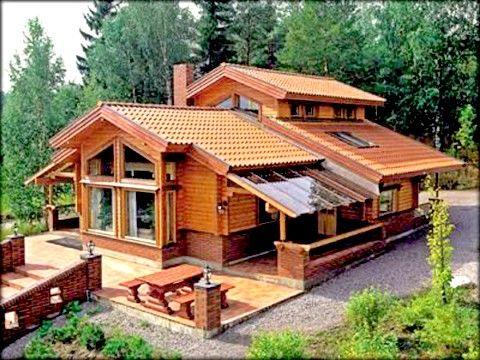 Fotos de caba as de madera rusticas casas y planos for Planos de cabanas campestres