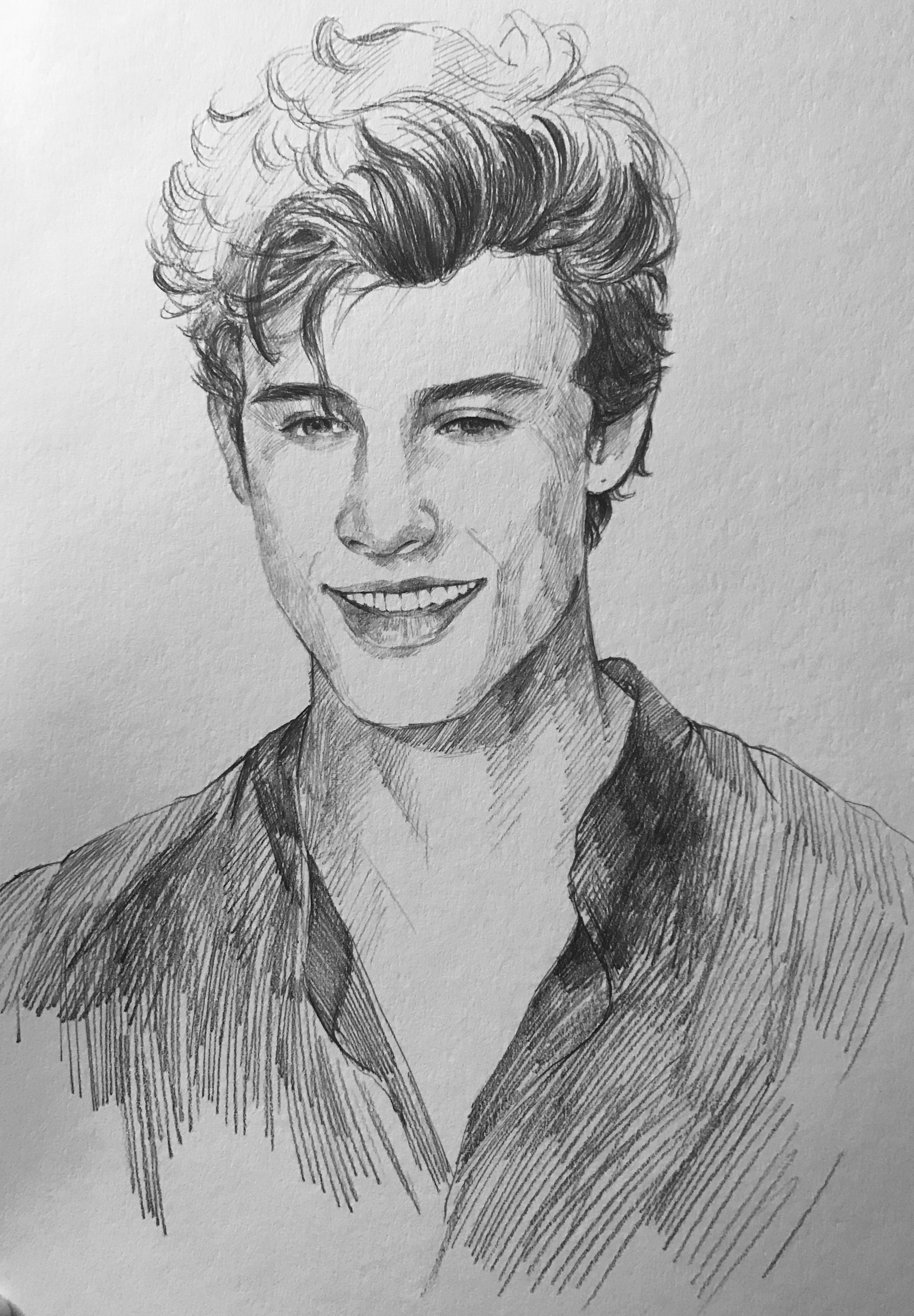 Shawn Mendes #drawing #shawnmendes