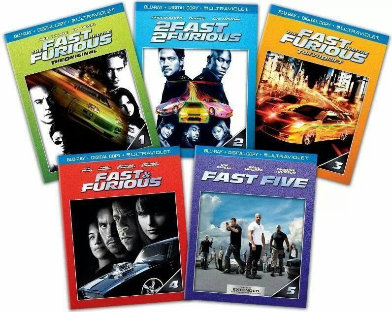 Fast furious collection fast and furious blu ray