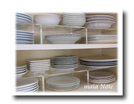 【収納】無印良品 アクリル仕切棚を使って食器棚の収納を見直し
