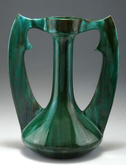 cl ment massier golfe juan 39 persan 39 vase circa 1900 h. Black Bedroom Furniture Sets. Home Design Ideas