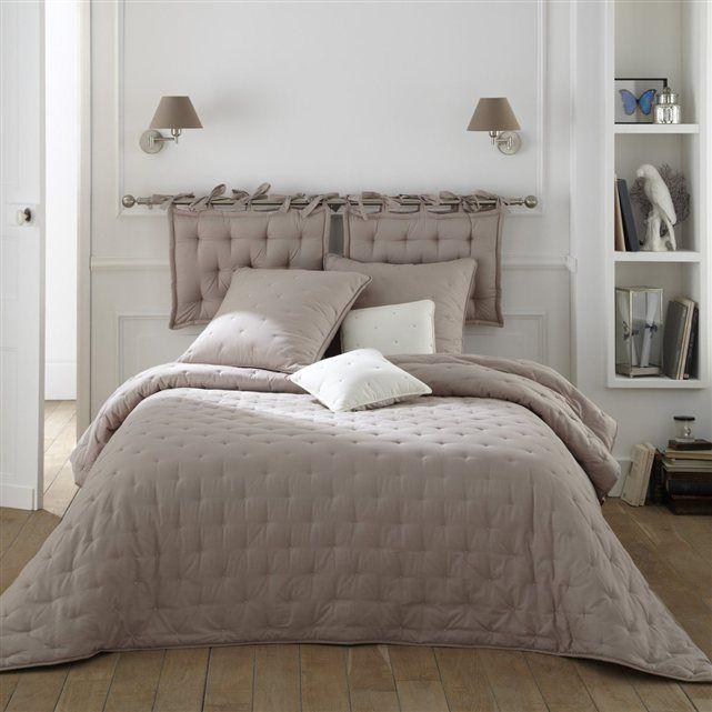 couvre-lit, chemin et tête de lit, coussin, aeri | couvre lit, la