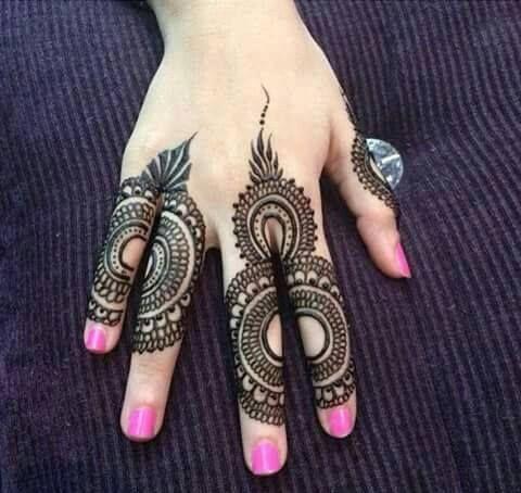 cute finger tiki design mehndi for girls 2016 mehndi