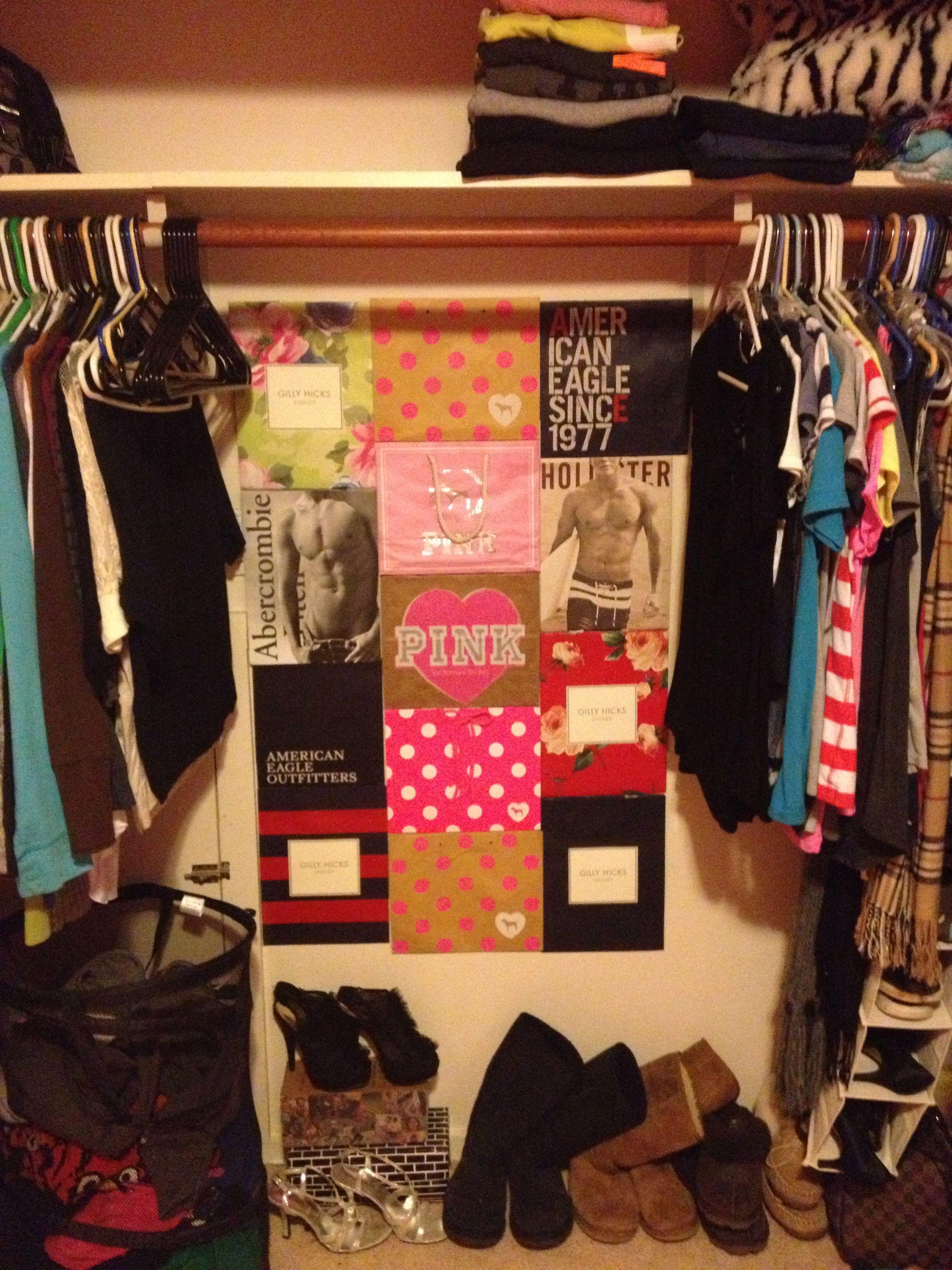 Diy Closet Shopping Bag Collage Gilly Hicks Hollister