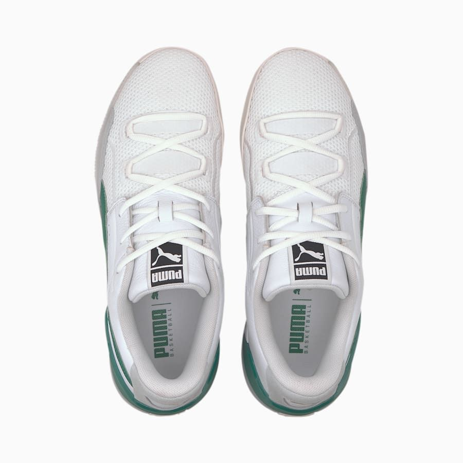 Clyde Hardwood Basketball Shoes | Green puma shoes