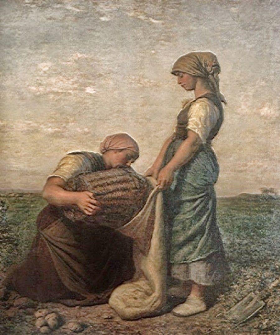 Jules Breton Realist Painter Jules Breton Realism Painting Art