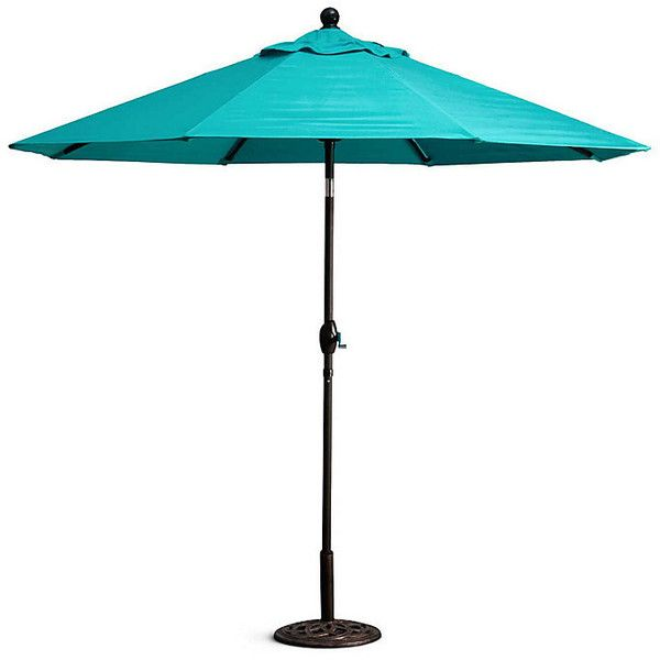Improvements 9u0027 Outdoor Sunbrella Umbrella Replacement Canopy - Teak ($200) ? liked on  sc 1 st  Pinterest & Improvements 9u0027 Outdoor Sunbrella Umbrella Replacement Canopy ...