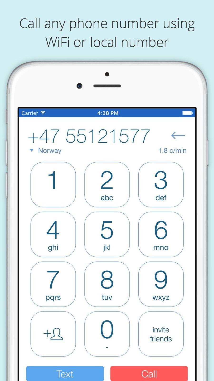 Voxofon: International Calling App, Texting, WiFi #LLC#WiFi