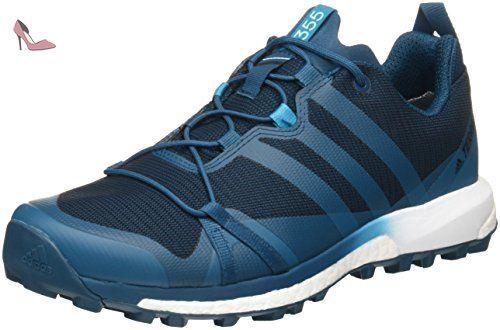 adidas TERREX Agravic GTX chaussures trail blue/white - Chaussures ...
