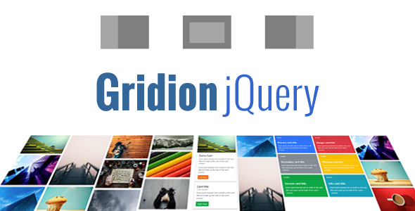 Gridion jQuery - Responsive Bootstrap Grid Gallery | Best