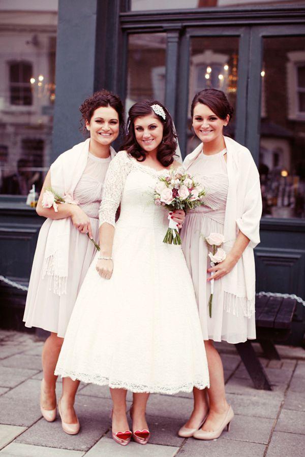 Elizabeth Avey Vintage Wedding Dress London Bride 1950s