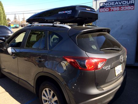 Inno Roof Rack >> Mazda CX-5 with a Rack N Road/Inno cargo box | Car Rack ...