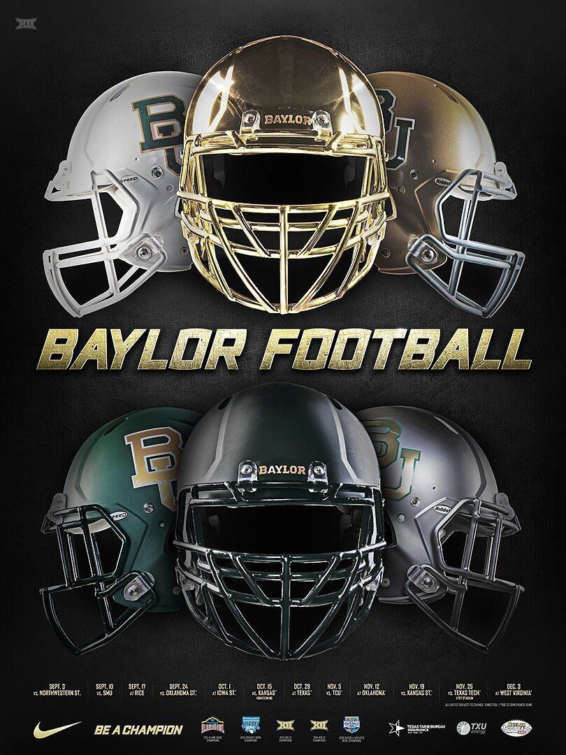 Mobile Apps Fan on in 2020 Football poster, Baylor
