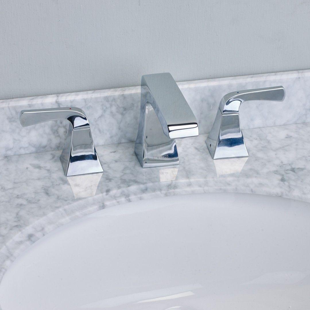EVIVA Butterfly® Widespread (2 Handles) Bathroom Faucet (Chrome ...