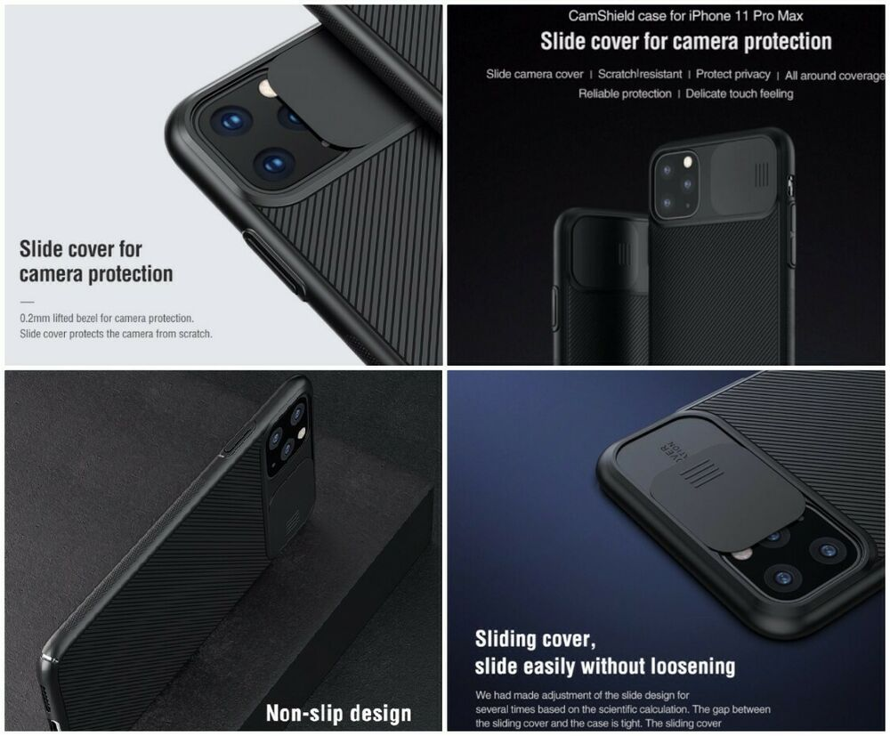2019 iphone 11 pro max case camera protection luxury