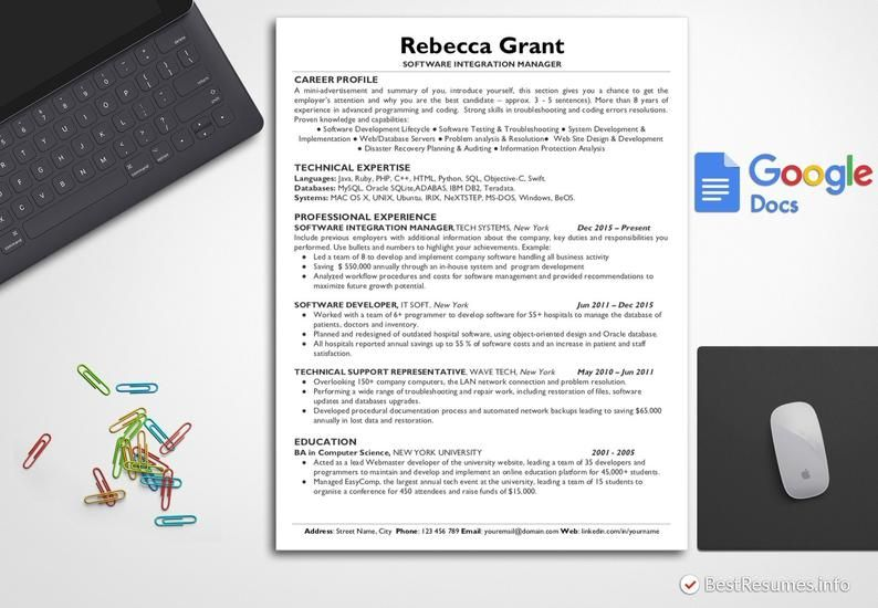 This Item Is Unavailable Etsy Resume Design Template Resume Template Cover Letter For Resume