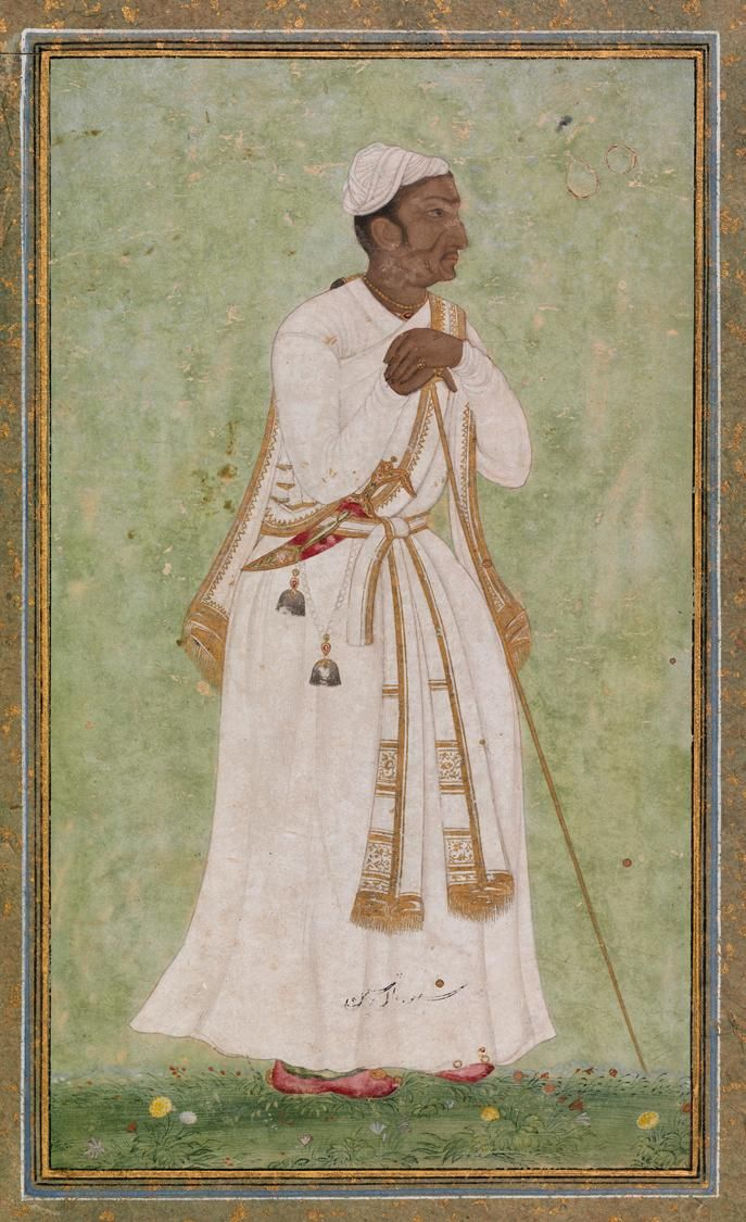 Tansen A Musician Of The Court Of Akbar Indian Painting