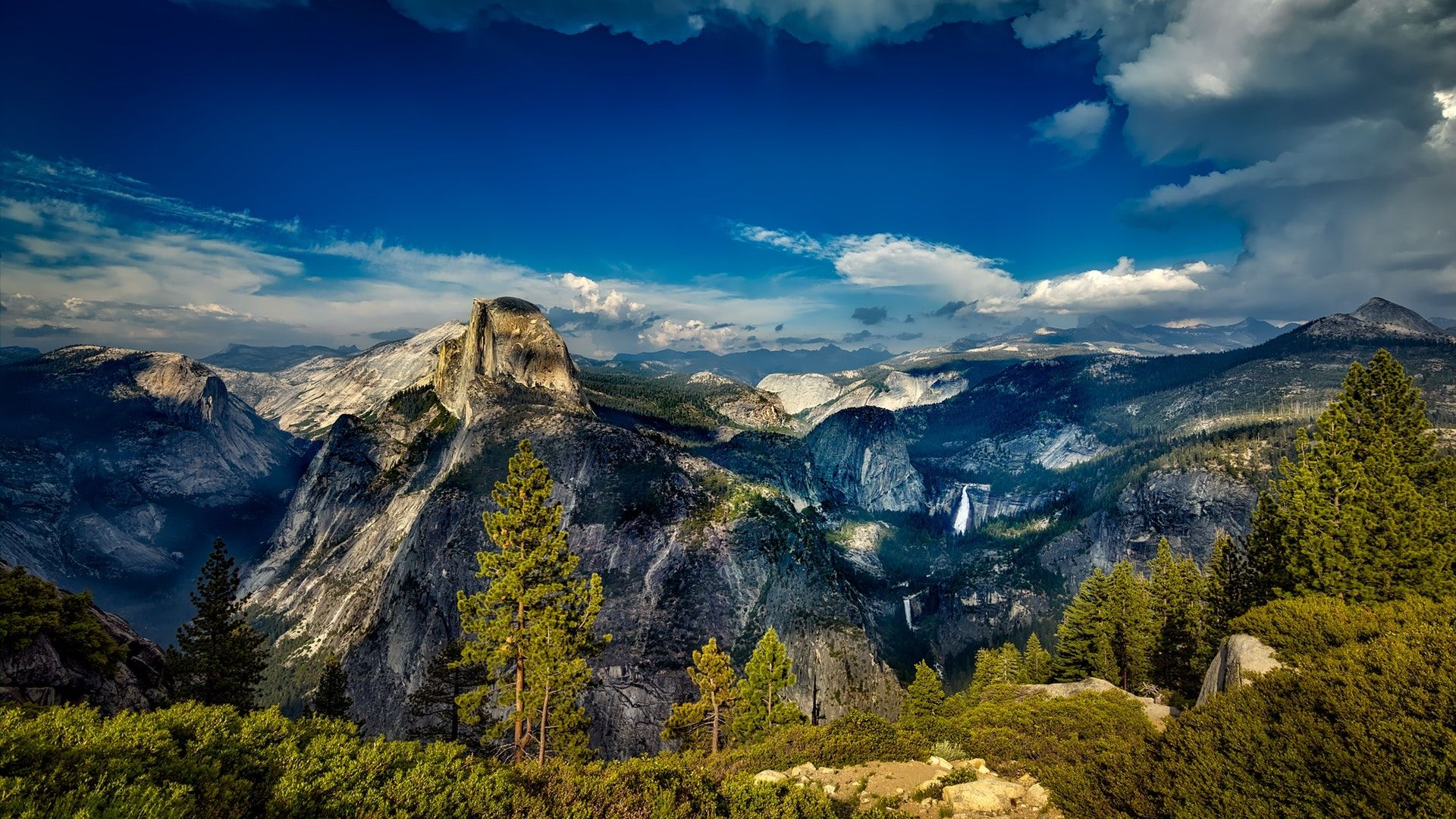 Yosemite National Park California 1920x1080 Hd Wallpaper