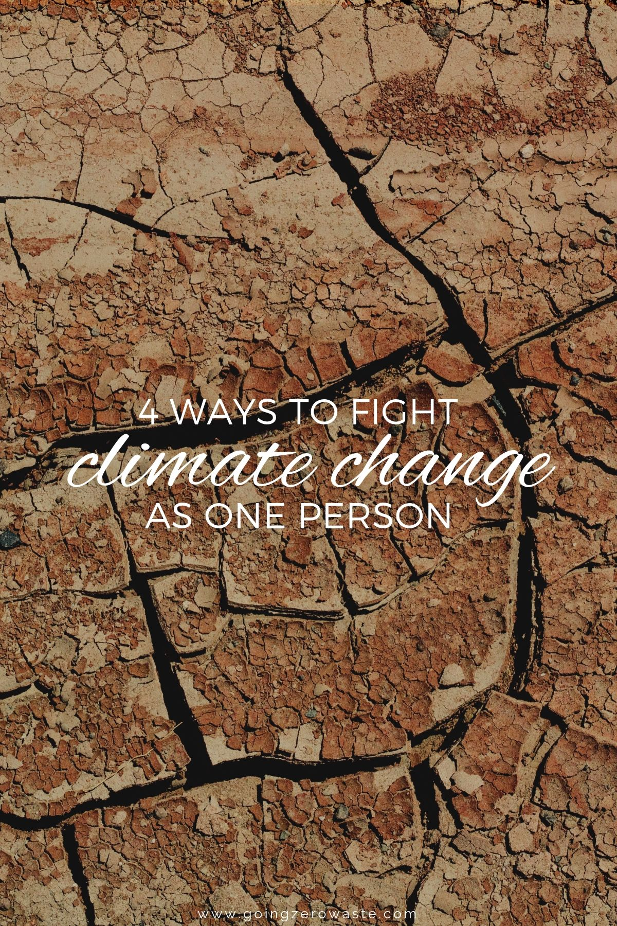 4 Ways To Fight Climate Change As One Person Climate Change