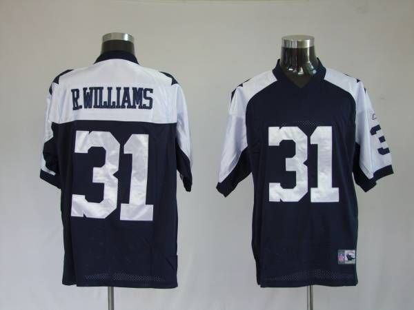 e74427f9cfb Cowboys #31 Roy L. Williams Blue Thanksgiving Stitched Throwback NFL Jersey.  $25.00 Reebok NFL Jersey Dallas ...