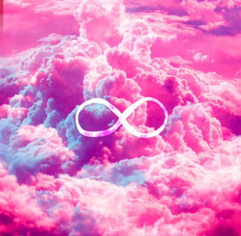 Infinite Tumblr Background Cute Tumblr Background Pink Infinte Love Cloud Infinity Wallpaper Pink Clouds Sky Pink Clouds