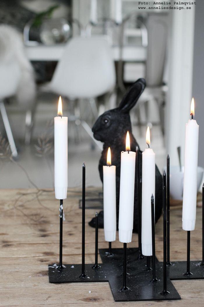 "Ljusstake ""Candel Cross"", design: Annelie Palmqvist. Webbutik: www.anneliesdesign.se"