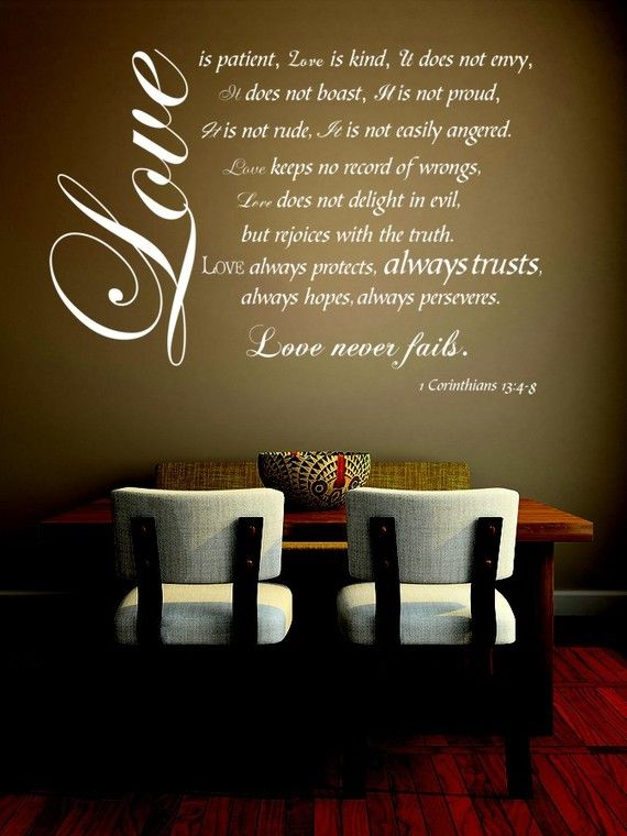 Hey i found this really awesome etsy listing at https www etsy com listing 67070429 vinyl decal wall art sticker love is