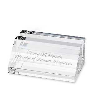 Crystal Card Holder - $25