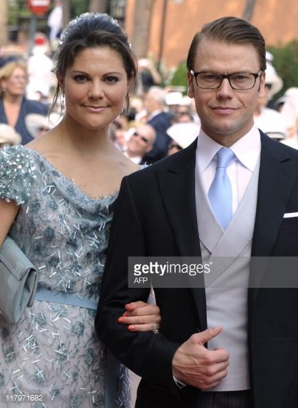 Prince Daniel Duke Of Vastergotland And Crown Princess Victoria