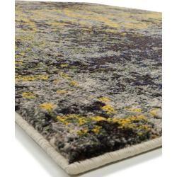 Photo of benuta Teppich Casa Anthrazit/Gelb 240×340 cm – Vintage Teppich im Used-Look benutabenuta