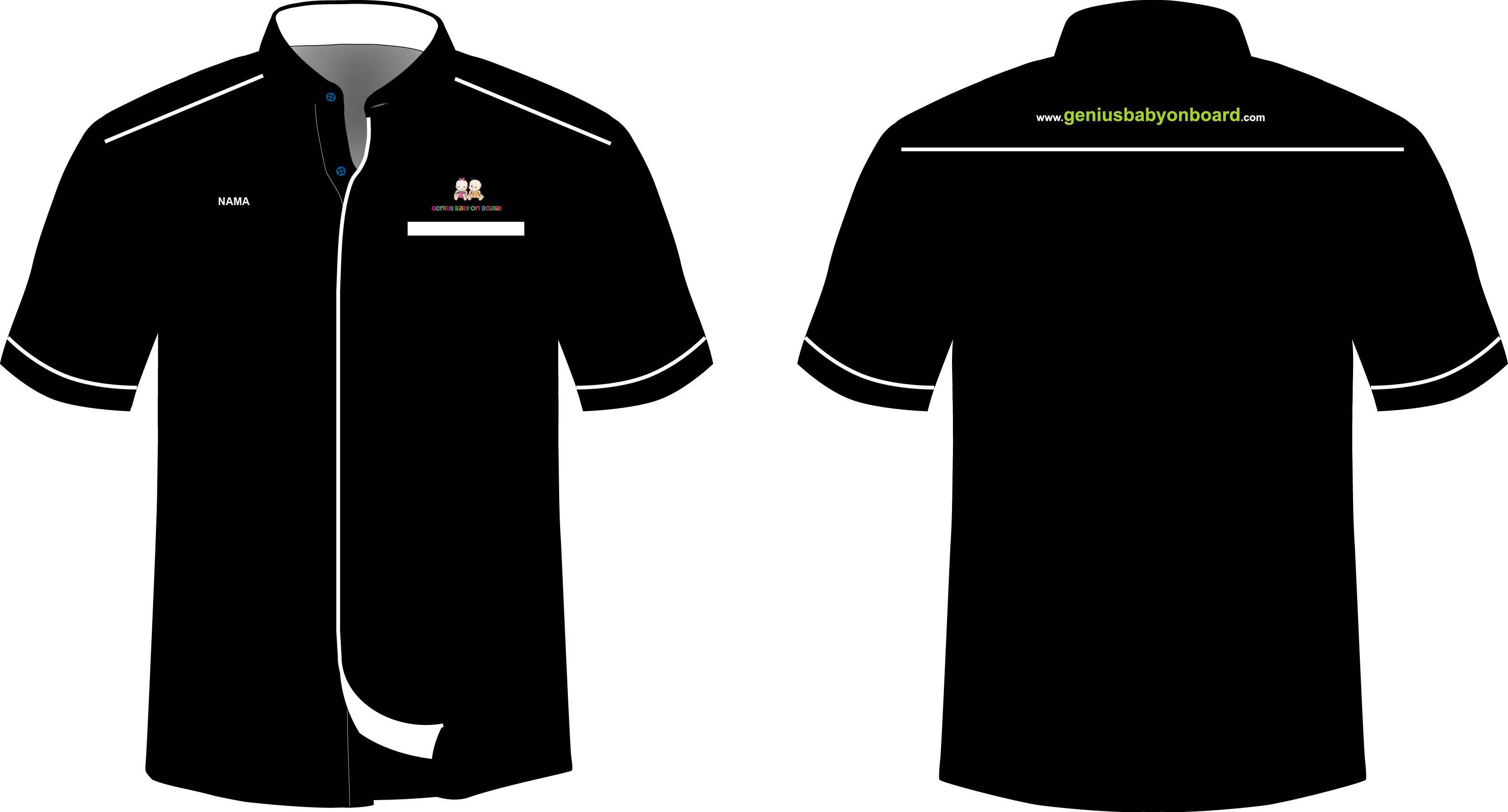 Collar Shirt Unigaya ConfirmCS 02 Template