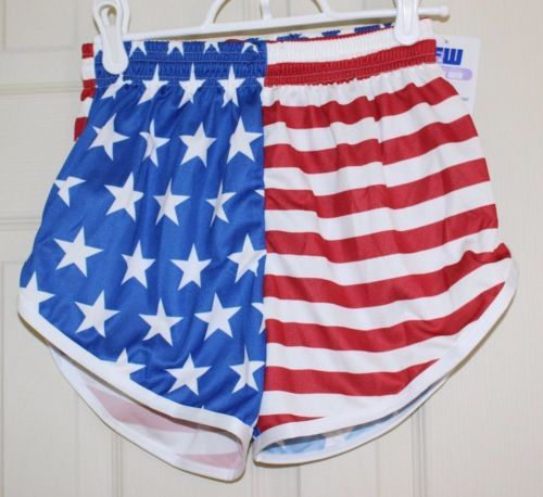American Flag Usa Running Shorts Made In Usa Stars And Stripes Similar Nike New Running Shorts Usa Running Usa Outfit