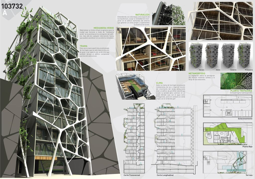 Architecture competition 1 2 by for Prestation architecte