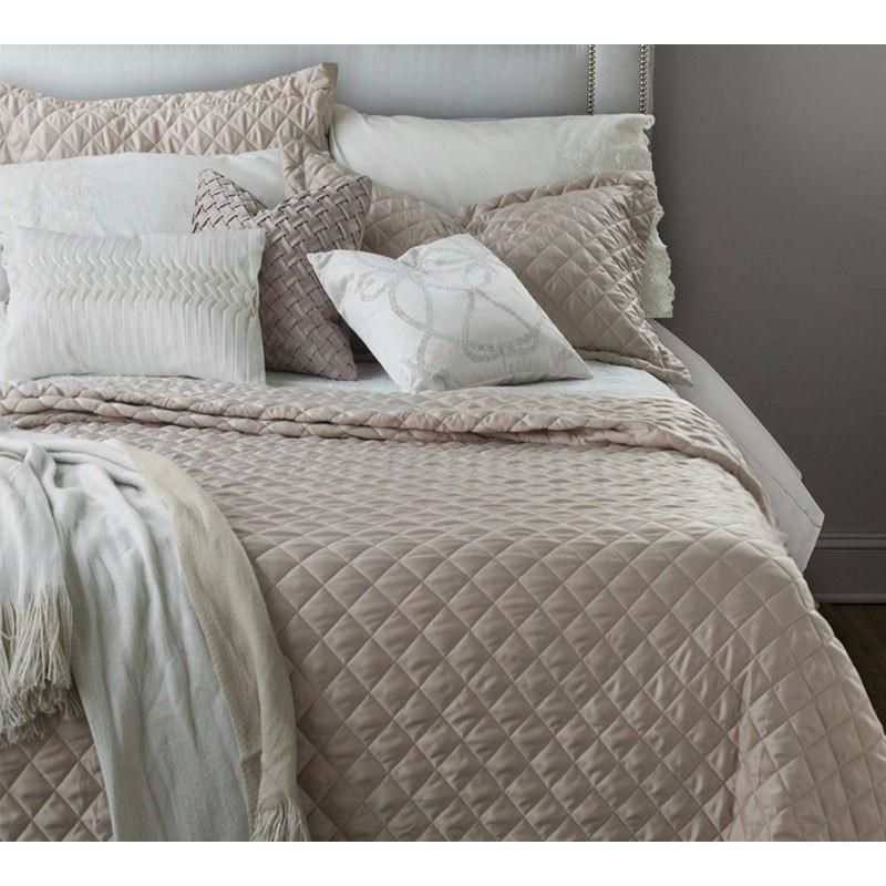 Blush Pink Quilted Bedspread Blush Pink Quilted