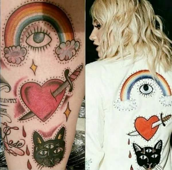 True Colors Kesha Kesha Tattoos Rainbow Tattoos Tattoos