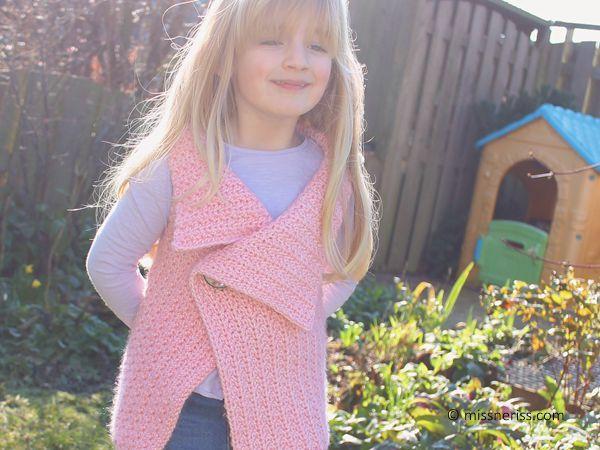 Peek-a-Boo Button Wrap for Kids