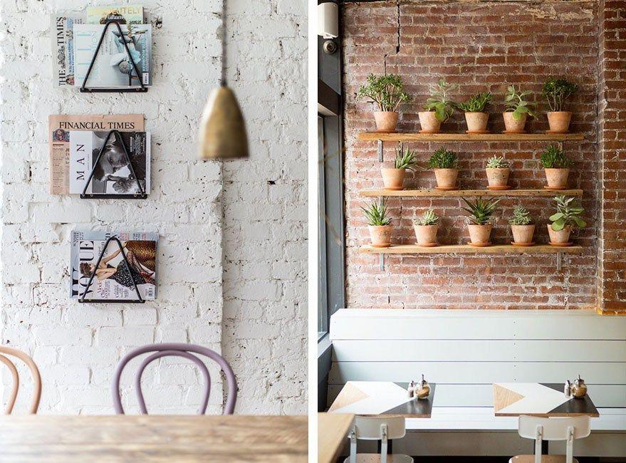 paredes ladrillo visto interior moderno - Buscar con Google ...