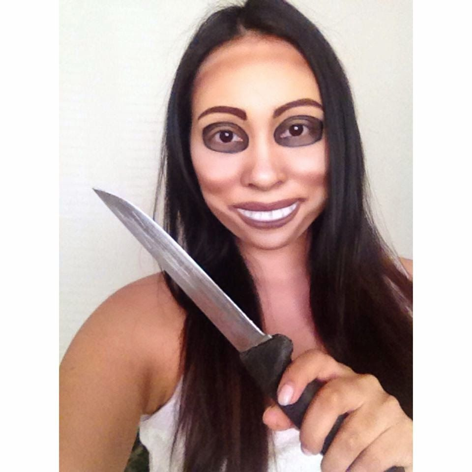 Warning: The Purge Is Coming This Halloween (DIY Makeup Masks for ...