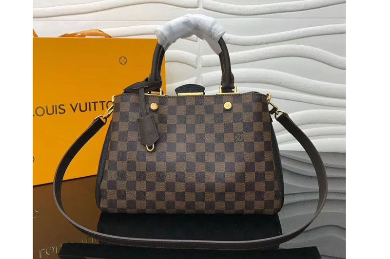 8c0979c17cee Replica Louis Vuitton N41673 LV Damier Ebene Canvas Brittany Bags Black …  Continue reading →