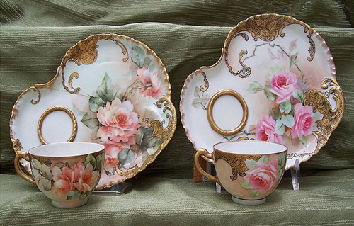 From Sweet Angel Archives I Think No Identification S Okay Just Want To Look At Them Not Purchase Xicaras De Cha Vintage Vintage Tea Xicaras De Cha