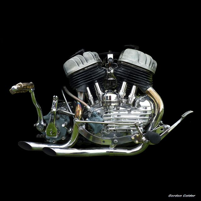 harley+davidson+engines   No111: CLASSIC HARLEY DAVIDSON FLATHEAD V-TWIN ENGINE   Flickr - Photo ...