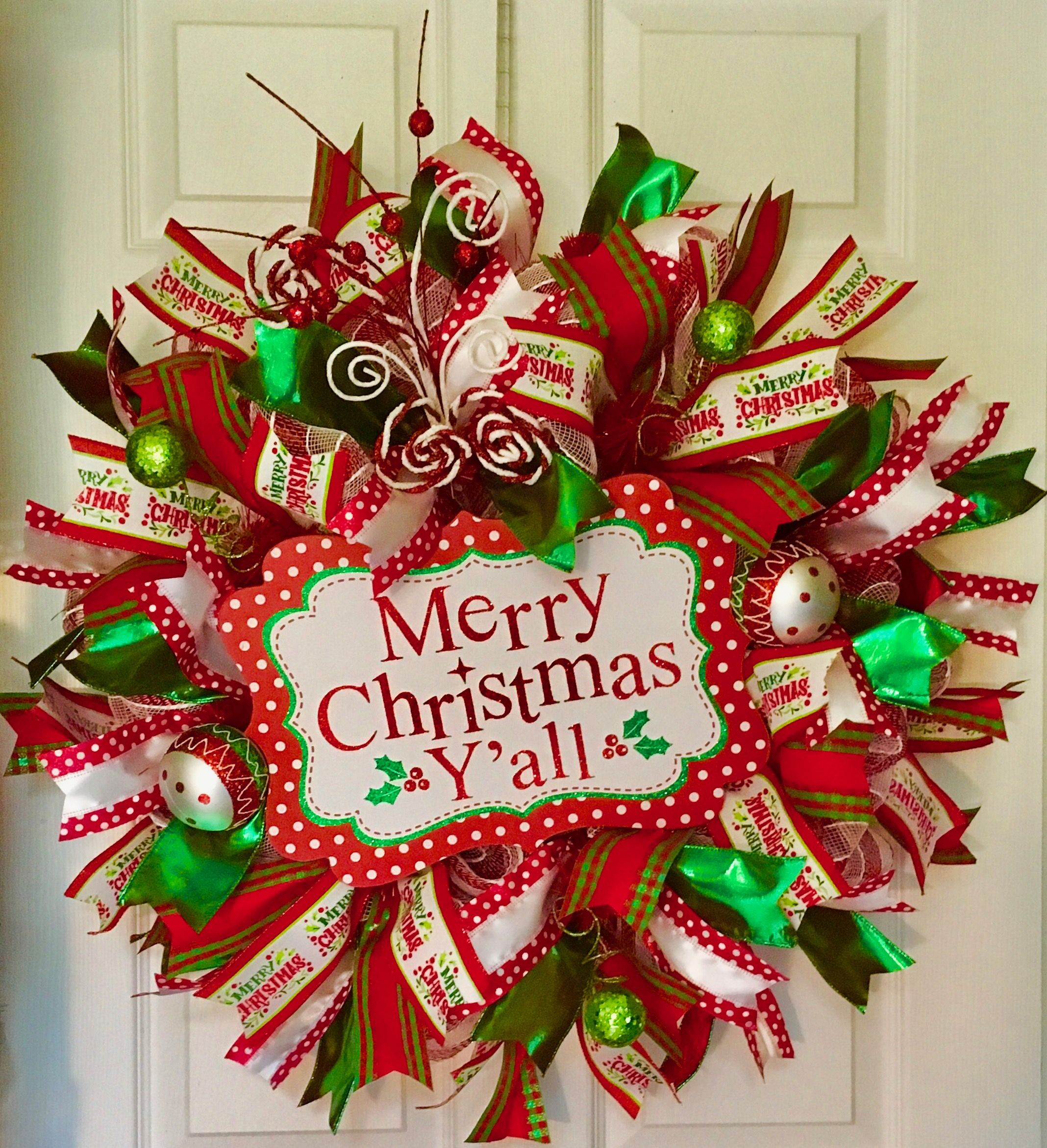 Pin By Kathy Stracener On Christmas Wreaths