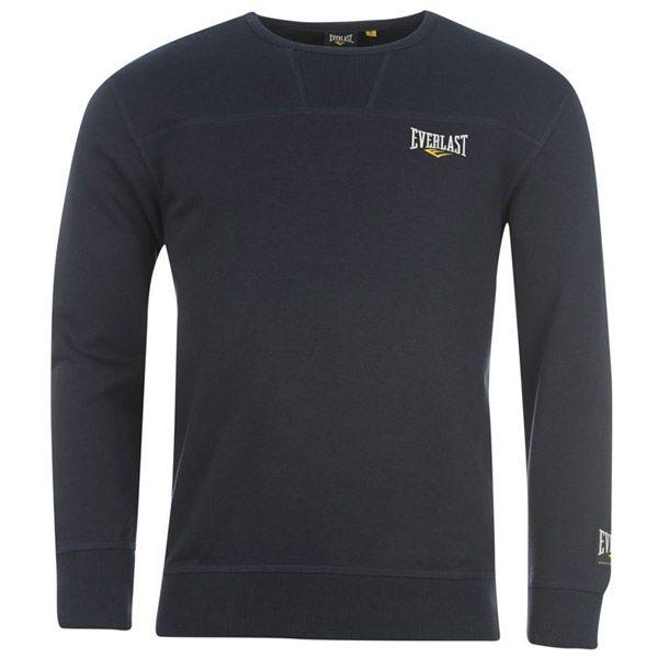 Pánska mikina #Everlast  16 € ideálne zloženie 70% bavlna, 30% polyester V tmavomodrej farbe --> http://www.outletmania.sk/52600222-everlast-crew-sweater-mens.html V čiernej farbe --> http://www.outletmania.sk/52600203-everlast-crew-sweater-mens.html